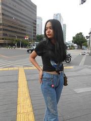 DSCN8739 (Avisheena) Tags: avisheena model pose photograph town jakarta hello world outfit