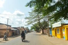 Arriving in Ouidah