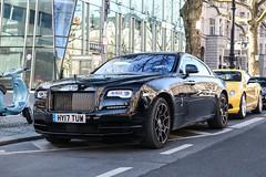 GB (Portsmouth) - Rolls-Royce Wraith Black Badge Series II (PrincepsLS) Tags: uk gb british license plate hy portsmouth germany berlin spotting rollsroyce wraith black badge series ii