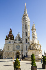 Historical St Matthias Church (rschnaible) Tags: hungary europe budapest outdoor building architecture castle hill st matthias church old historical circa 11th century