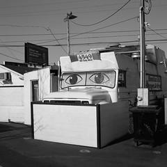 Portland (austin granger) Tags: portland oregon foodtruck eyes street sidewalk square film gf670