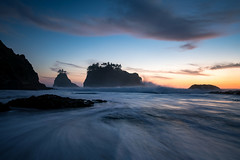 Secret Beach (Jeremy Duguid) Tags: brookings oregon south southern pnw pacific northwest travel nature landscape sunset dusk evening long exposure sony jeremy duguid outdoors outdoor photography ocean sea seascape waves