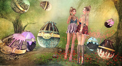 Easter Eggs (kynne L.) Tags: easter eggs precious faberge irrisistible shop fantasy build mesh