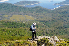 20190113-16-Hiking up Mt Wedge (Roger T Wong) Tags: 2019 australia mtwedge rogertwong sel24105g sony24105 sonya7iii sonyalpha7iii sonyfe24105mmf4goss sonyilce7m3 tasmania bushwalk hike outdoors southwest tramp trek walk