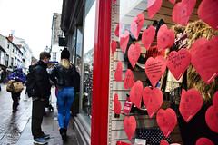 Thinking of Valentine (Bury Gardener) Tags: burystedmunds suffolk 2019 people peoplewatching folks nikond7200 england eastanglia uk streetphotography street streetcandids snaps strangers candid candids britain abbeygatestreet