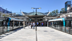 Sydney Metro - Metro trains at Cherrybrook (1) (john cowper) Tags: sydneymetro cherrybrook openday visitors trains metrosydneynorthwest transportfornsw infrastructure alstom suburbs sydney newsouthwales australia