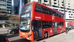 P1140880 VMH2533 LF68 PXK at Warren Street Station Hampstead Road Euston London (LJ61 GXN (was LK60 HPJ)) Tags: metroline volvob5lhybrid mcvevoseti mcv evoseti 105m 10490mm vmh2533 lf68pxk nb911