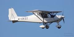 Ikarus C42 FB80 G-CKGS Lee on Solent Airfield 2019 (SupaSmokey) Tags: ikarus c42 fb80 gckgs lee solent airfield 2019
