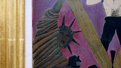 Pippin, Mr. Prejudice, detail with Statue of Liberty