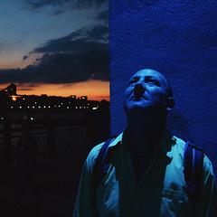 Pink Floyd (Sebastian Pier Filip) Tags: canon g16 compact pointandshoot pointnshoot sunset burgas bulgaria nightshot naturallight blue sky evening night