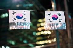 Flags (RW Sinclair) Tags: green seoul korea gangnam fujifilm fujinon xt1 xf56mmf12r xf56 56mm bokeh bokehporn winter 2019 february