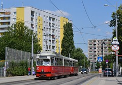 SGP E1 #4781 + Rotax c4 #1337 (LukaszL99) Tags: wien vienna wiedeń vídeň strasenbahn strassenbahn tramwaj tram tramvaj sgp lohner e1 rotax c4 wl wiener linien austria österreich rakousko
