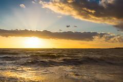 Westerschelde bij Waarde (Omroep Zeeland) Tags: westerschelde waarde wolkenlucht scheepvaart westerstorm windkracht zonsondergang