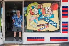 Sunshine (Westographer) Tags: sunshine melbourne australia westernsuburbs suburbia signage signs typography portrait shop shopfront milkbar handpaintedsignage lollies tiles