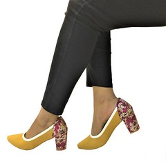 Buy Dominique Ocher Yellow Court Heels for Women at PAIO Shoes (paio.nirmal) Tags: courtheels courtheelsforwomen yellowcourtheels paio shoes paioshoes dominiqueocheryellowcourtheels