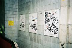 (Bucuresci Cartel) Tags: mjuii olympus f28 rossman iso 200 expired film bucharest graffiti street graff archive