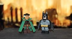 The Demon and the Bat (Kaiju Dan) Tags: batman legobatman rasalghul legorasalghul dc dccomics