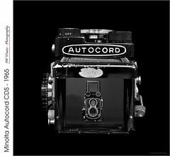 Minolta Autocord CDS – 1965 (jwvraets) Tags: camera vintage 1965 film rollfilm 120 minolta minoltaautocordcds twinlensreflex tlr monochrome blackandwhite opensource rawtherapee gimp nikon d7100 afnikkor50mm118d