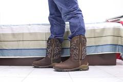 IMG_4964_1 (P. Wog) Tags: cowboy boots boot socks sock dead death die deadbody whitesock whitesocks choke strangle murder foot shoesoff bootsoff feet shoeless kill corpse gay bl