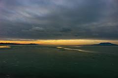 Sunset Balaton (Péter Vida) Tags: sunset balaton natural scenery winter naplemente természet tájkép tél balatonboglár water víz