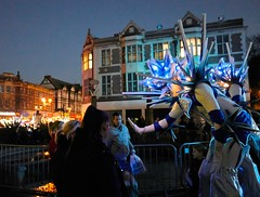 Christmas Lights Switch on 2018 - Entertainer (rothmbc) Tags: christmas rotherham towncentre lights xmas switchon allsaintssquare yorkshire