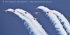 0013 7 ship loop R1 R2 R3 R5 R6 R7 R9 (photozone72) Tags: raf rafat redarrows reds redwhiteblue aviation aircraft jets hawk canon canon100400f4556lii canon7dmk2 7dmk2 scampton lincolnshire