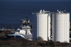 Highland Endurance (MikeOB64) Tags: port offshore vessel supply aggregate silo boat hendon dock sunderland north sea