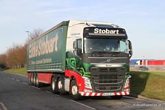 Eddie Stobart. Bessie H4687 (dickodt65) Tags: lorry truck transport stobart eddiestobart volvo h4687 bessie appletonthorn