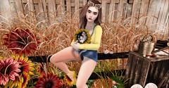 ♥♥♥ (ღ ღ[[J E SSIE ]] ღ ღ) Tags: stealthic maitreya girl sl secondlife ns cute prtty secondlifephoto photography blackbantam genus babyface blueberry pinki