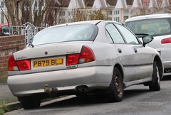 P879 BLJ (Nivek.Old.Gold) Tags: 1997 mitsubishi carisma 18 glx 16v auto 5door bridportmotorcompany