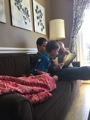 """Daddy Reads to Paul and Dani • <a style=""""font-size:0.8em;"""" href=""""http://www.flickr.com/photos/109120354@N07/40512351613/"""" target=""""_blank"""">View on Flickr</a>"""