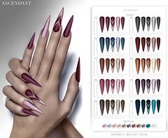 eBento | April 11th (Kah Melody | ASCENDANT) Tags: ebento ascendant bento nails maitreya belleza slink