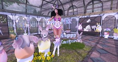 irrISIStible Easter Bunny Candy (sequaneresident1) Tags: easter candy bunny eggs flowers ears cute sexy kawaii hud mesh outfit costume contest clothes women boots shoes heels bodysuit garter gloves appliers maitreya belleza slink hourglass venus isis freya fantasy irrisistible shop roleplay rp fancy sl secondlife second life