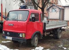 Zastava 615AN (FromKG) Tags: zastava 615an red truck kragujevac serbia 2018