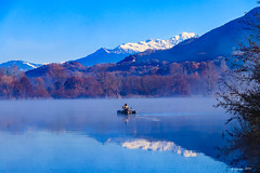 Sérénité... (Savoie 11/2018) (gerardcarron) Tags: autumn automne canon80d lac lacsthelene lake paysage savoie water