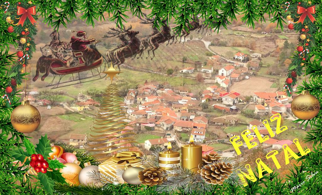 Águas Frias(Chaves) - Feliz Natal 2018