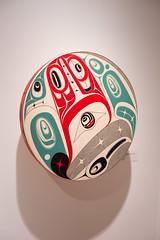 This is crazy drum (quinet) Tags: 2017 2018 aboriginal aborigène audain audainmuseum britishcolumbia canada firstnations indian kunst northwest robertdavidson ureinwohner whistler art museum musée native