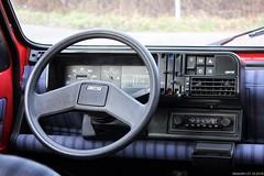 Fiat Panda 1000 CL i.e. 1990 (YP-02-FB) dashboard (MilanWH) Tags: fiat panda 1000 cl ie 1990 yp02fb iniezione elettronica 141 dashboard