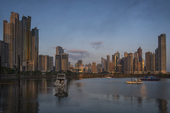 skyline... (J. Kaphan Studios) Tags: panamacity2018 panama skyline sky clouds city cityscape citylife sunset travel travelphotography traveler travelblogger traveling latamphotoworkshops letsgosomewhere wanderlust explore photography photojournalism photographytours phototour phototours photographers reflections fujixseries fujifilm fuji fujixt2 boats sailboats bluehour blue