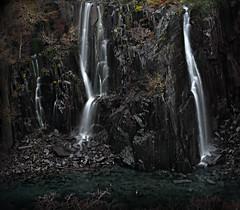 Some quiet, dark beauty (PentlandPirate of the North) Tags: dinorwic slate quarry waterfall dinorwig snowdonia dalishole gwynedd