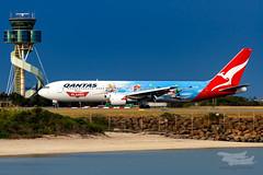 VH-OGG QF B763 34L YSSY-8274 (A u s s i e P o m m) Tags: qantas qf boeing b767 syd yssy disney planes disneyplanes sydneyairport