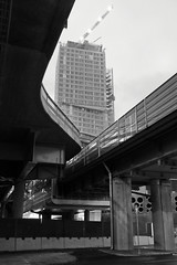 Kalasatama (deff0) Tags: kalasatama redi bridge architecture highrise building fuji fujifilm x100t fujinon 23mm suomi finland helsinki