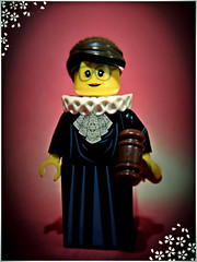 Notorious RBG (LegoKlyph) Tags: lego brick block build custom mini figure ary gbr ruth scotus supreme court law legal