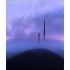 Blurring mist (Robyn Hooz) Tags: collieuganei euganei colli nebbia teolo antenna clouds fog nuvole mist padova
