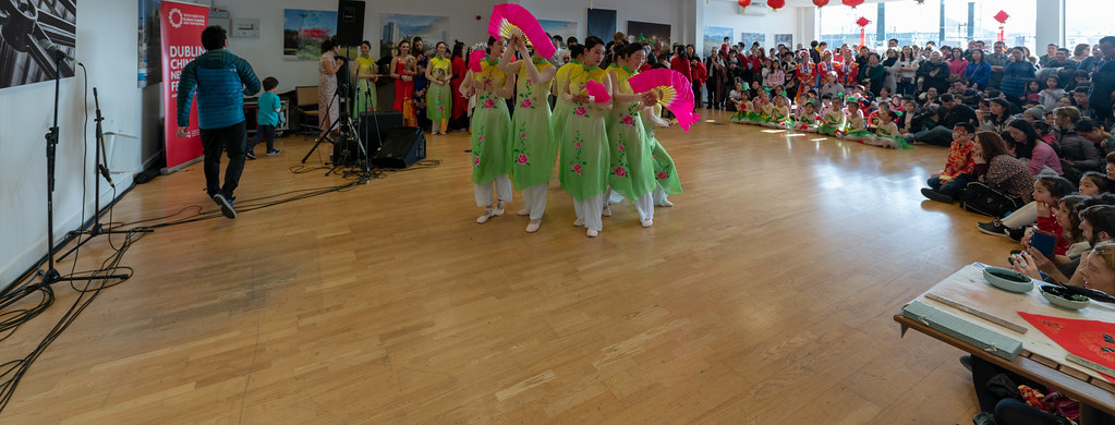 YEAR OF THE PIG - LUNAR NEW YEAR CELEBRATION AT THE CHQ IN DUBLIN [OFTEN REFERRED TO AS CHINESE NEW YEAR]-148924