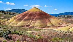 Painted Hills, Oregon (maytag97) Tags: painted hills maytag97 nikon d750 oregon central usa geology colorful day nature monument john dry national color fossil unit red background landscape outdoor park rock scenic scenery america picturesque terrain erosion formations beautiful view beauty clay beds abstract sky grass road soil