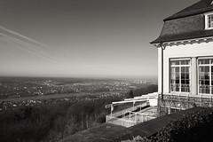 Grandhotel Petersberg (Manfred Hofmann) Tags: bild schwarzweis öffentlich flickr orte brd nrw projekte stadtundland königswinter