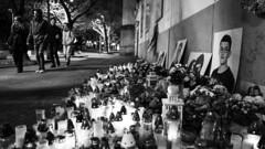 One year later (Peter Lukáč) Tags: jankuciak allforjan nezabudneme wewillnotforget slovensko slovakia streetsofslovakia streetsofbratislava bratislava pressburg street streets streetphotography