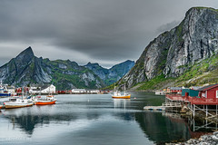 Hamnoya, Lofoten islands (Norway) (christian.rey) Tags: hamnoya lofoten islands îles insels sony alpha a7r2 a7rii paysage landscape seascape mountains montagnes mer sea 1635 norway norvège