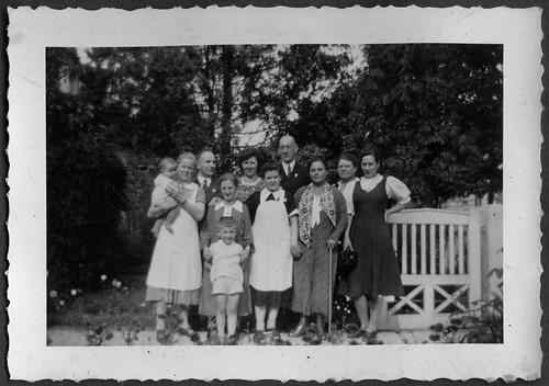 AlbumC60 Bekannte in Bad Salzuflen, 1930-1950er